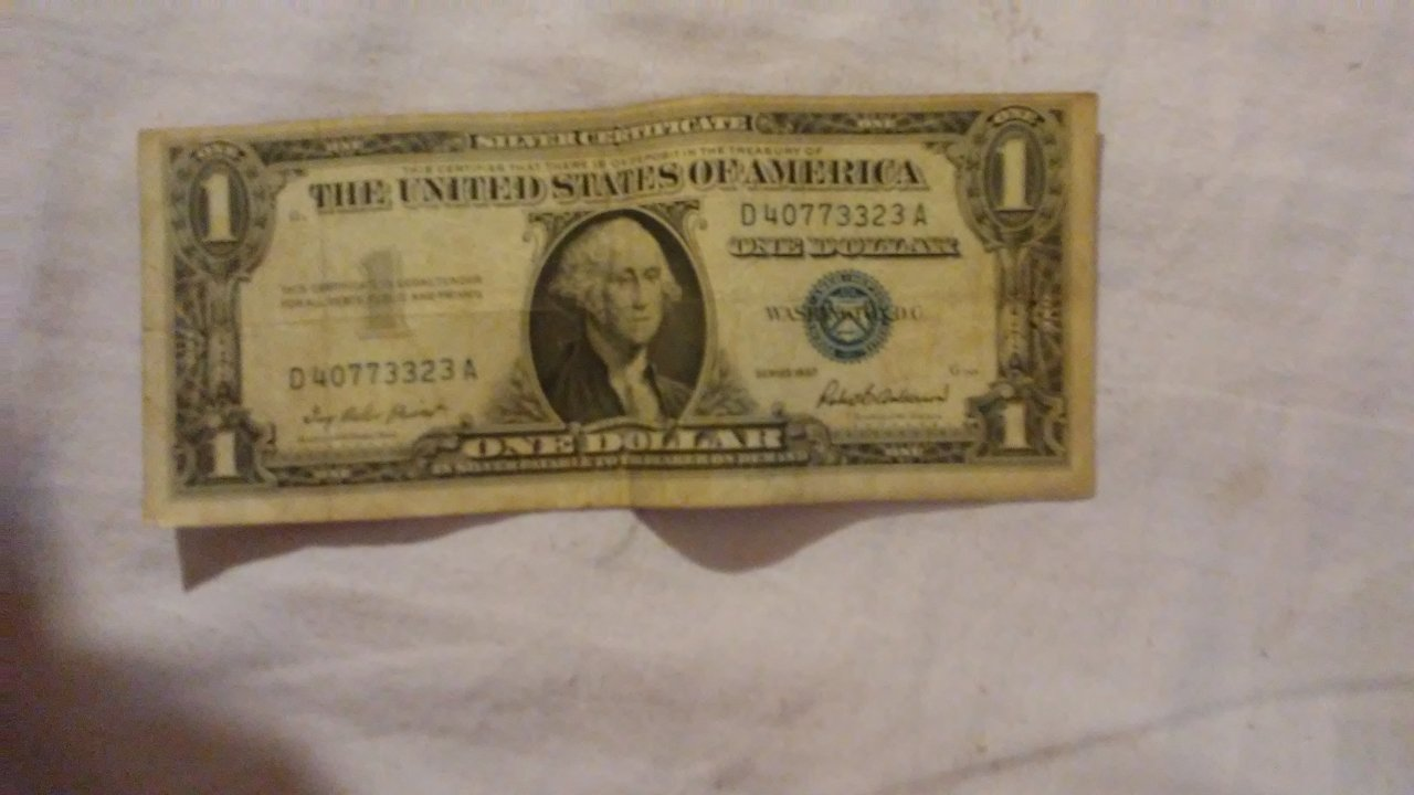 How much is a silver certificate dollar bill worth with blue seal how much are these worth xflitez Choice Image