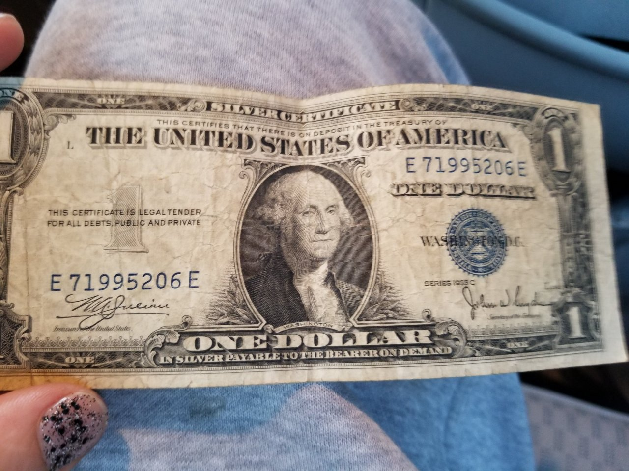 How much is a 1935 c series blue print dollar bill worth see if he has something being but up either way for him but wanna give him something one day worth something u know dont have much and know nothing xflitez Gallery
