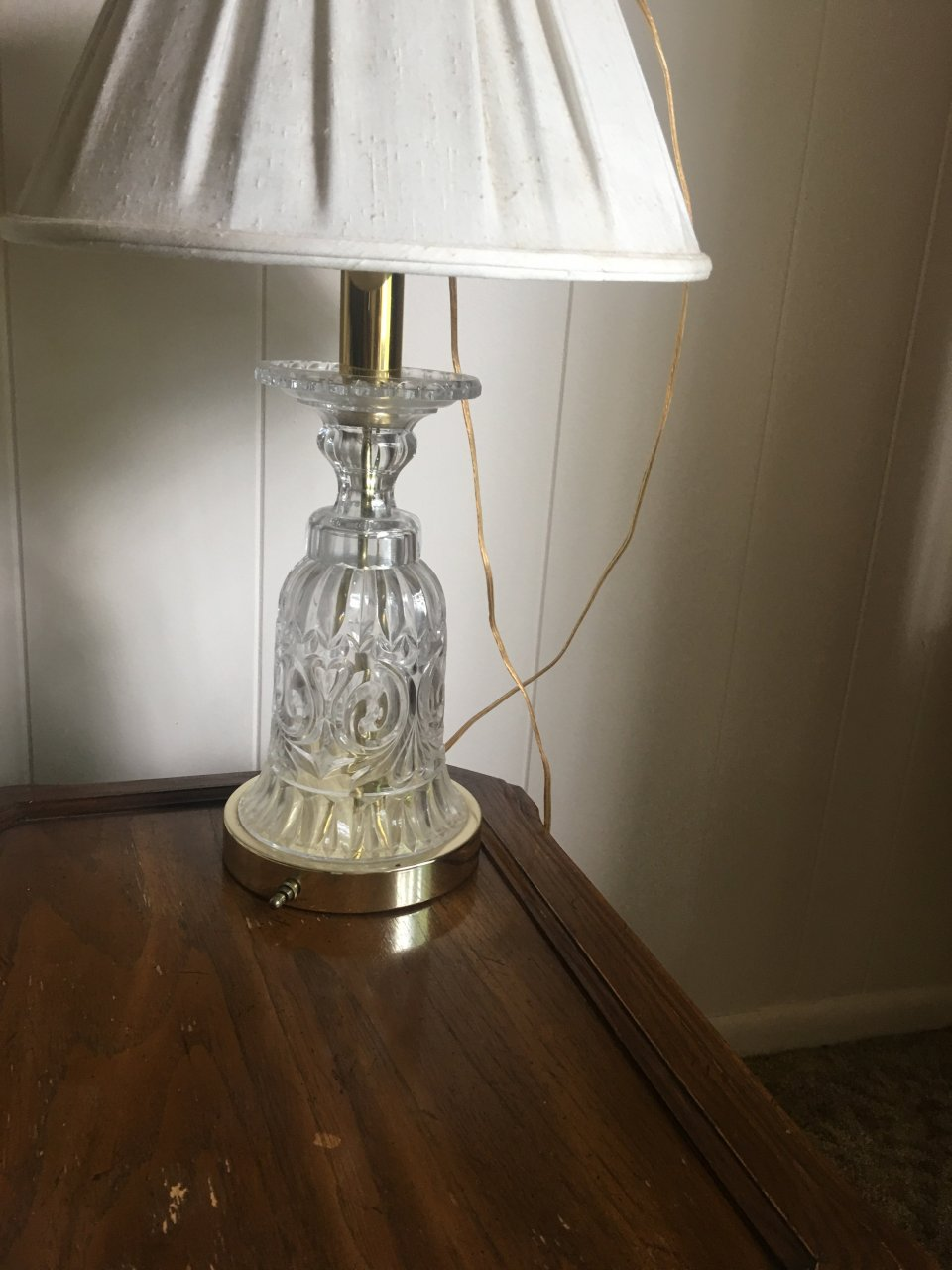 Crystal Clear Portable Lamp Artifact Collectors