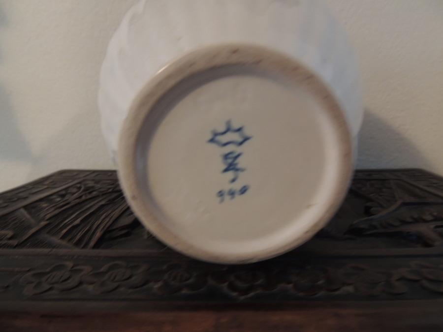 Blue Markings On Bottom Of Vase Artifact Collectors