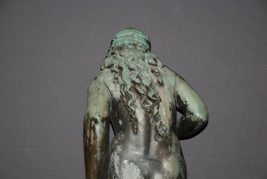 Semi-Nude Bronze- Any Information On Foundry Mark JG Or