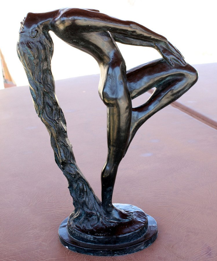 "Fair Market Value >> FOR SALE Austin Sculpture: ""Sultry Awakening"", By Klara Seve... | Artifact Collectors"