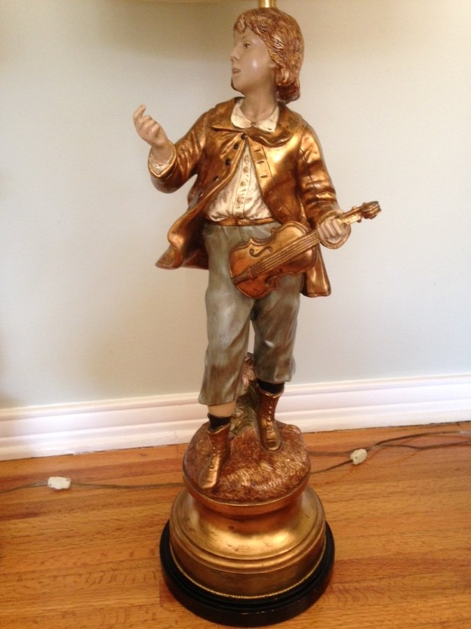 Marbro Figurine Lamps Artifact Collectors