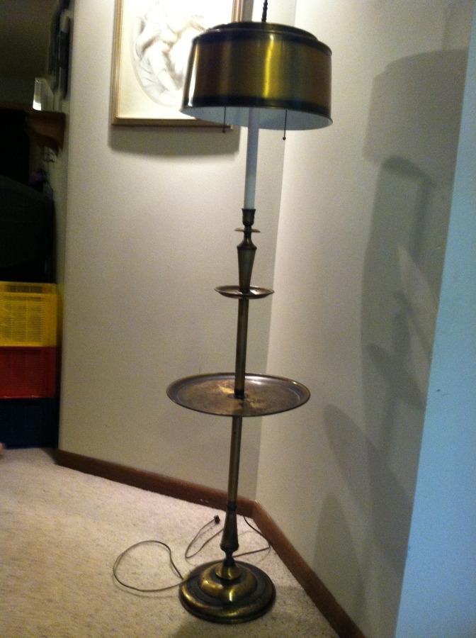 Underwriters Laboratories Portable Lamp Brass - Table Designs