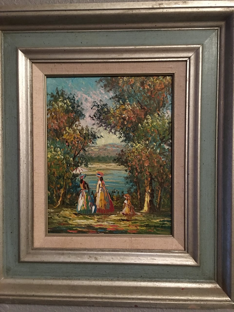 Home Galleries Inc Oil Certified Painting