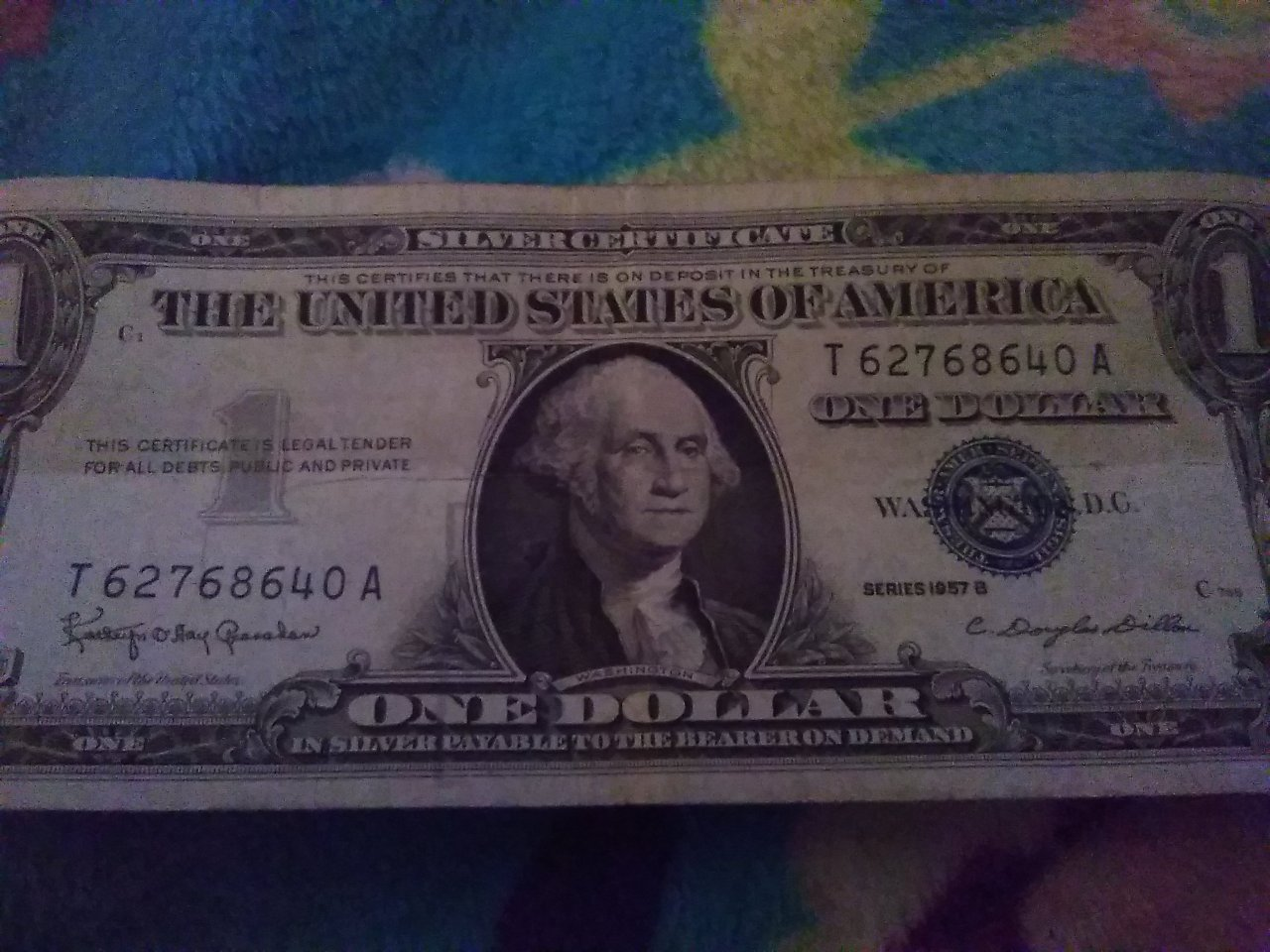 How Much Is My Series B 1957 Silver Certificate Dollar Bill Worth