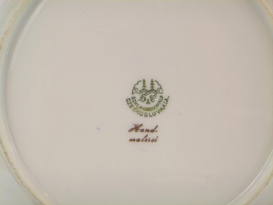 Haas Amp Czjzek Schlaggenwald Czechoslovakia Plate I