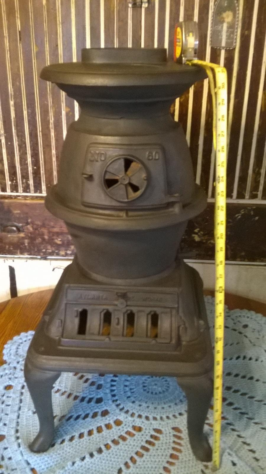 I Recently Found This Atlanta Stove Works No 60 Pot