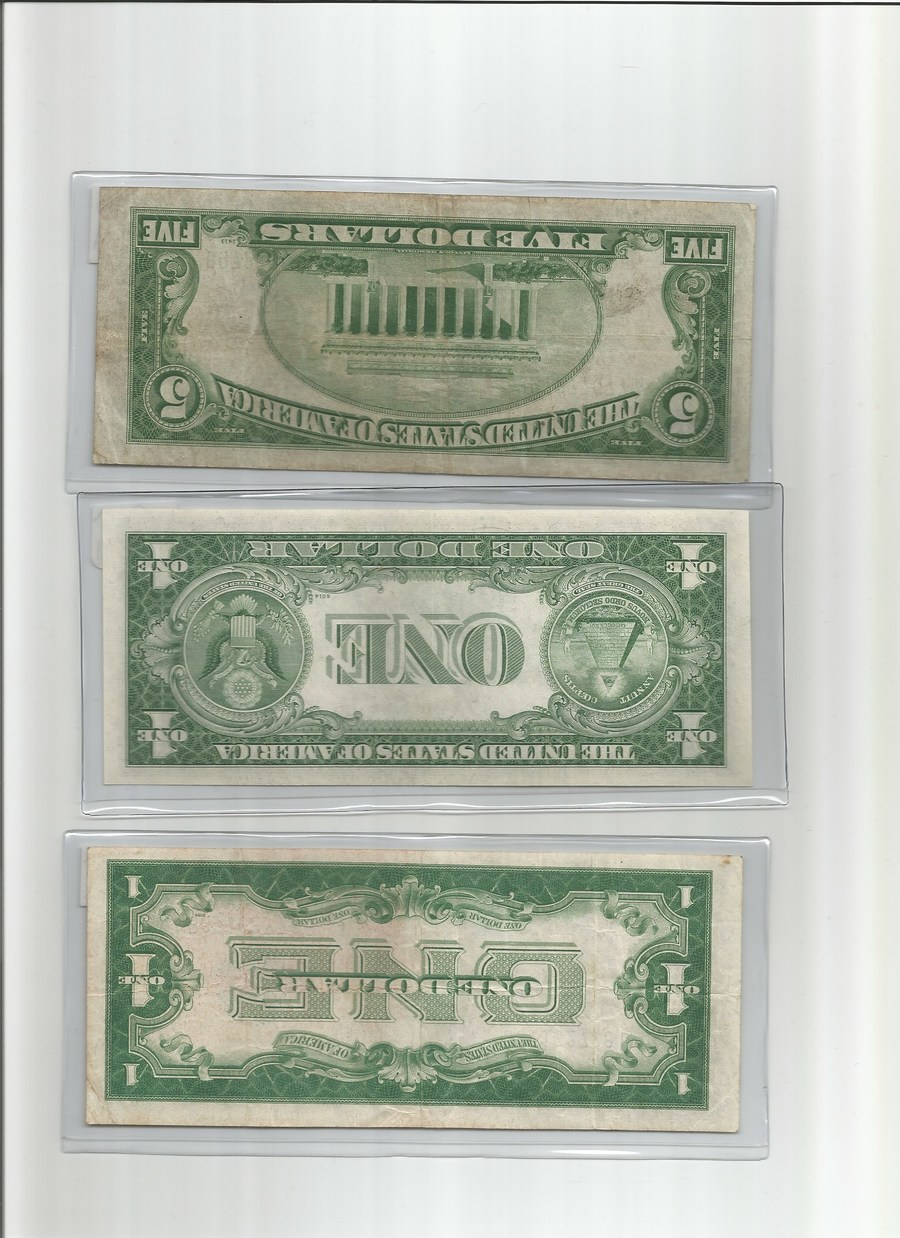 Hw Much Is A 5 Dollar Silver Certificate From 1934a With Blue Seals