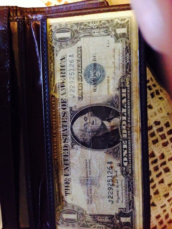 How Much Is A Silver Certificate Dollar Bill Worth With Blue Seal