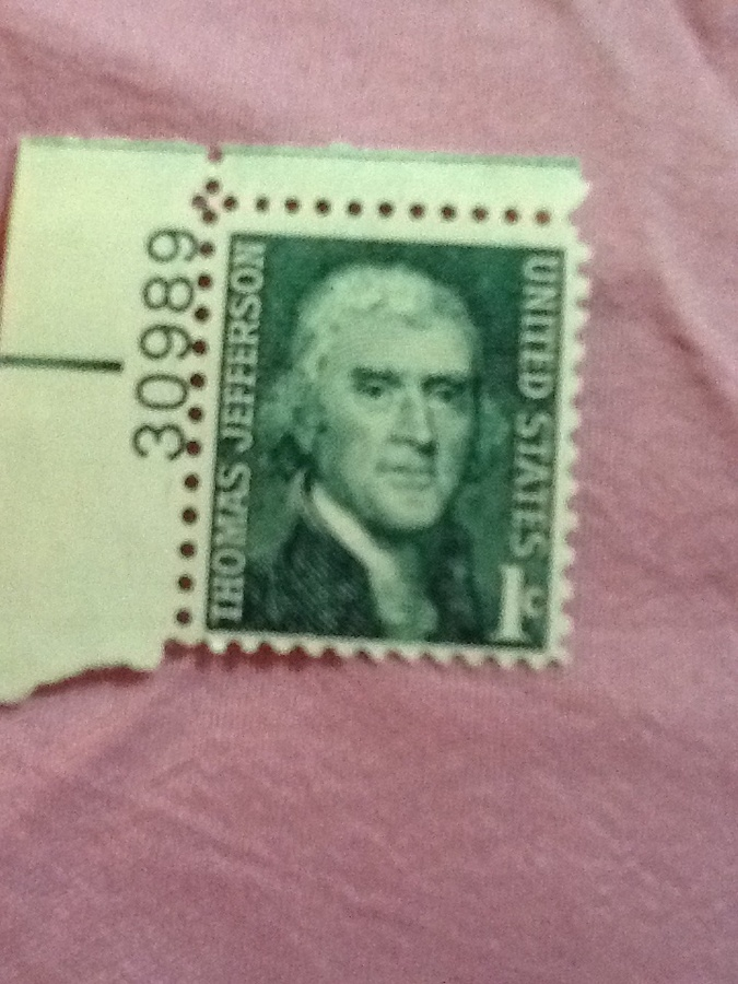 What Is The Value Of A Thomas Jefferson Green 1c Stamp Worth Today Artifact Collectors