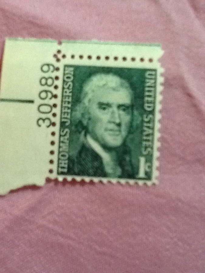 What Is The Value Of A Thomas Jefferson Green 1c Stamp