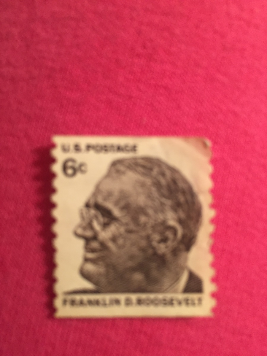 How Much Is A Franklin Roosevelt 6 Cent Stamp Worth No Post Artifact Collectors