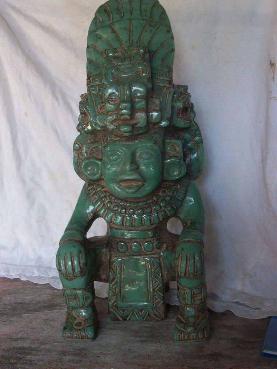 I Have 3 Jade Aztec Artifacts  That We U0026 39 Re Just Recently