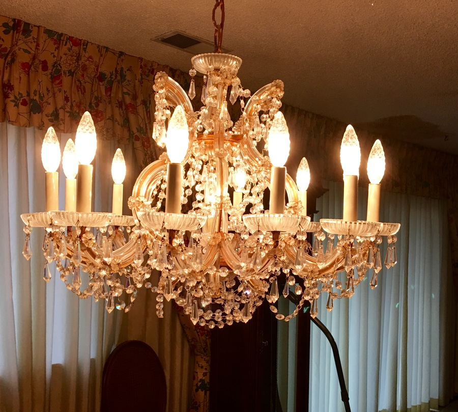 Value of schonbek crystal chandelier artifact collectors can anyone provide me any information or potential value of this chandelier of my aunts who recently passed away thanks in advance mozeypictures Images