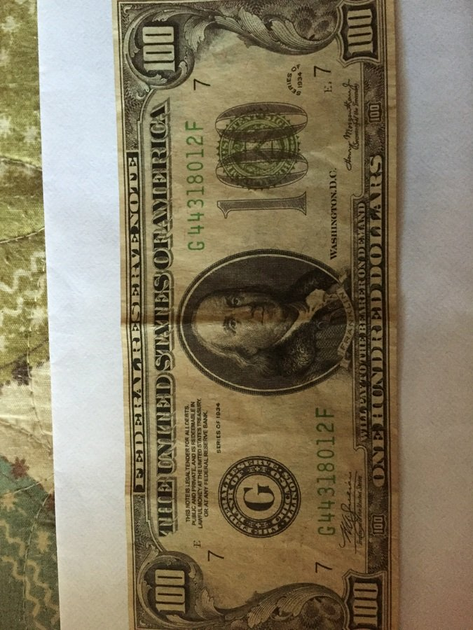 How Much Is A One Hundred Dollar Bill 1934 Series   Artifact Collectors