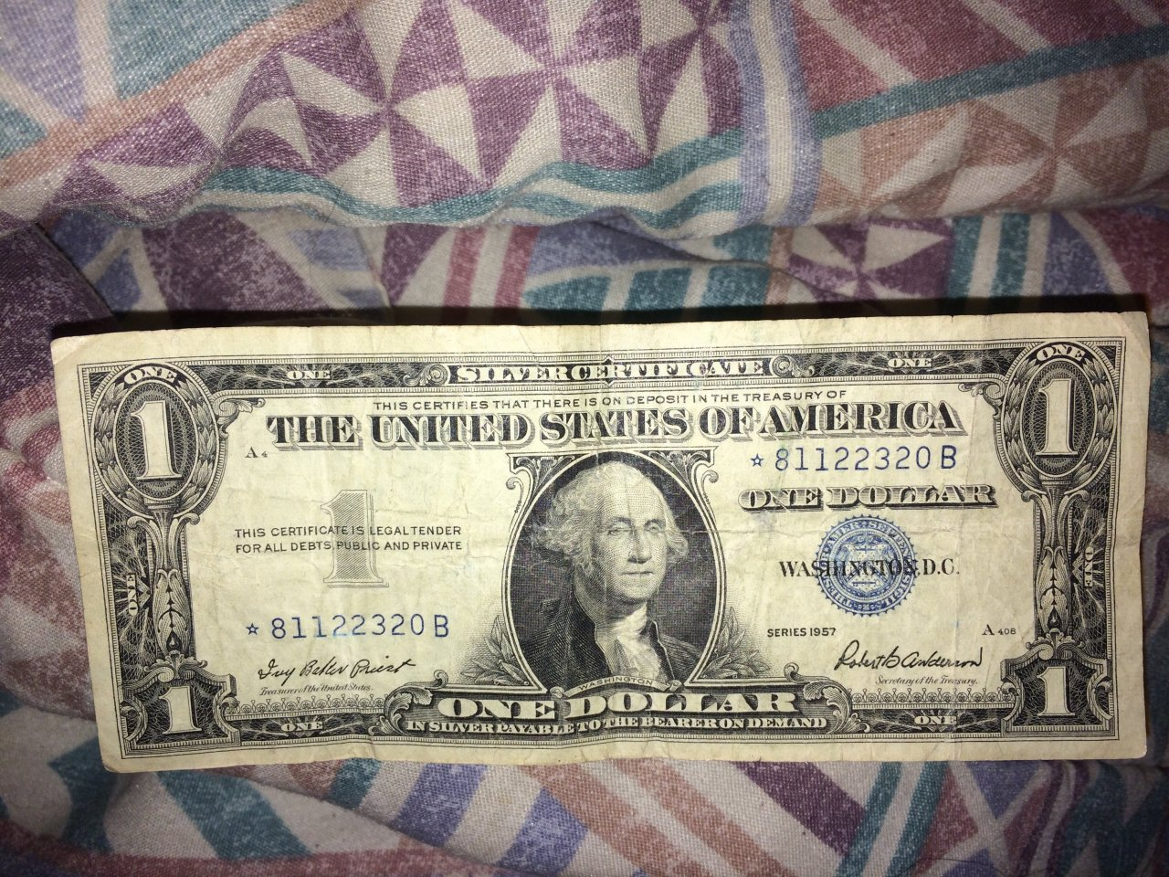 Note artifact collectors what is the value of this 1957 star note 1 silver certificate priest and anderson series 1619 httpsartifactcollectorsimagesfbfiles xflitez Gallery