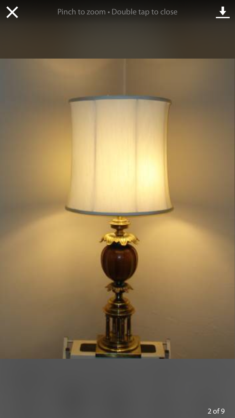 Vintage Stiffel Lamps >> Vintage Hollywood Regency Stiffel Lamp | Artifact Collectors