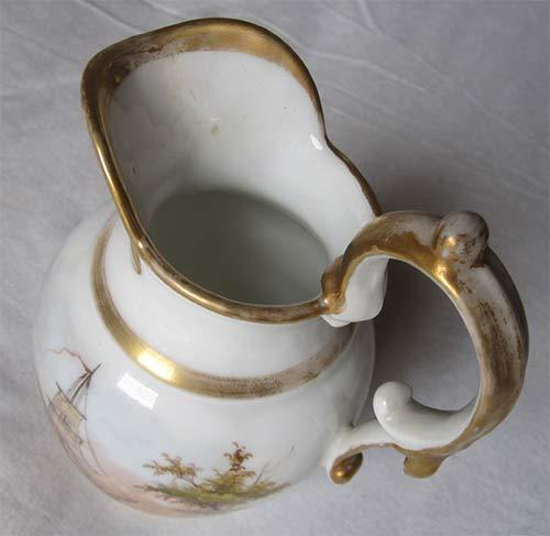 Tucker 180 S Porcelain Pitcher Made In Philadelphia Artifact Collectors