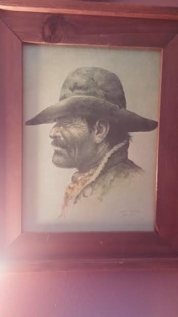 What S An Original William Hampton Oil Painting On Canvas