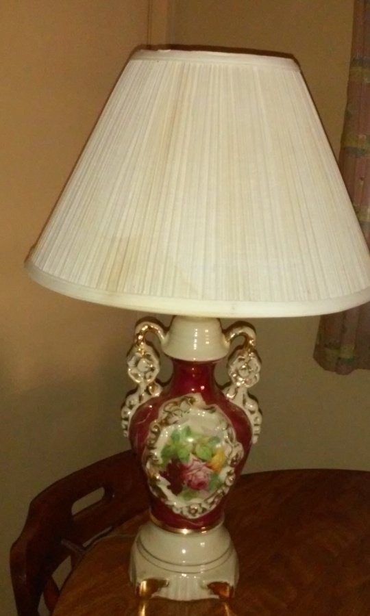 I Have A Signed Porcelain Lamp Signed By Ullrich It Has