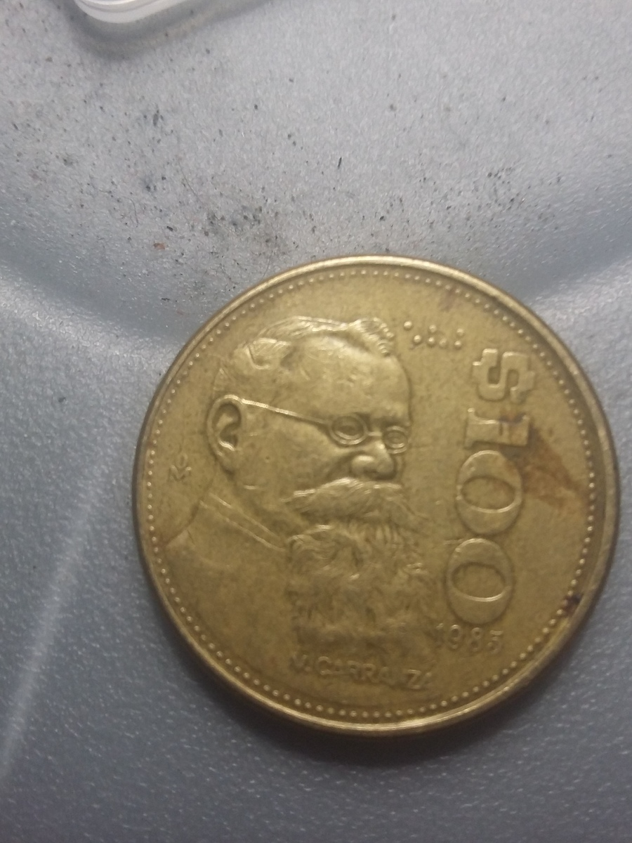 I Have A 100 Coin V Carranza 1990 How Much Is It Worth