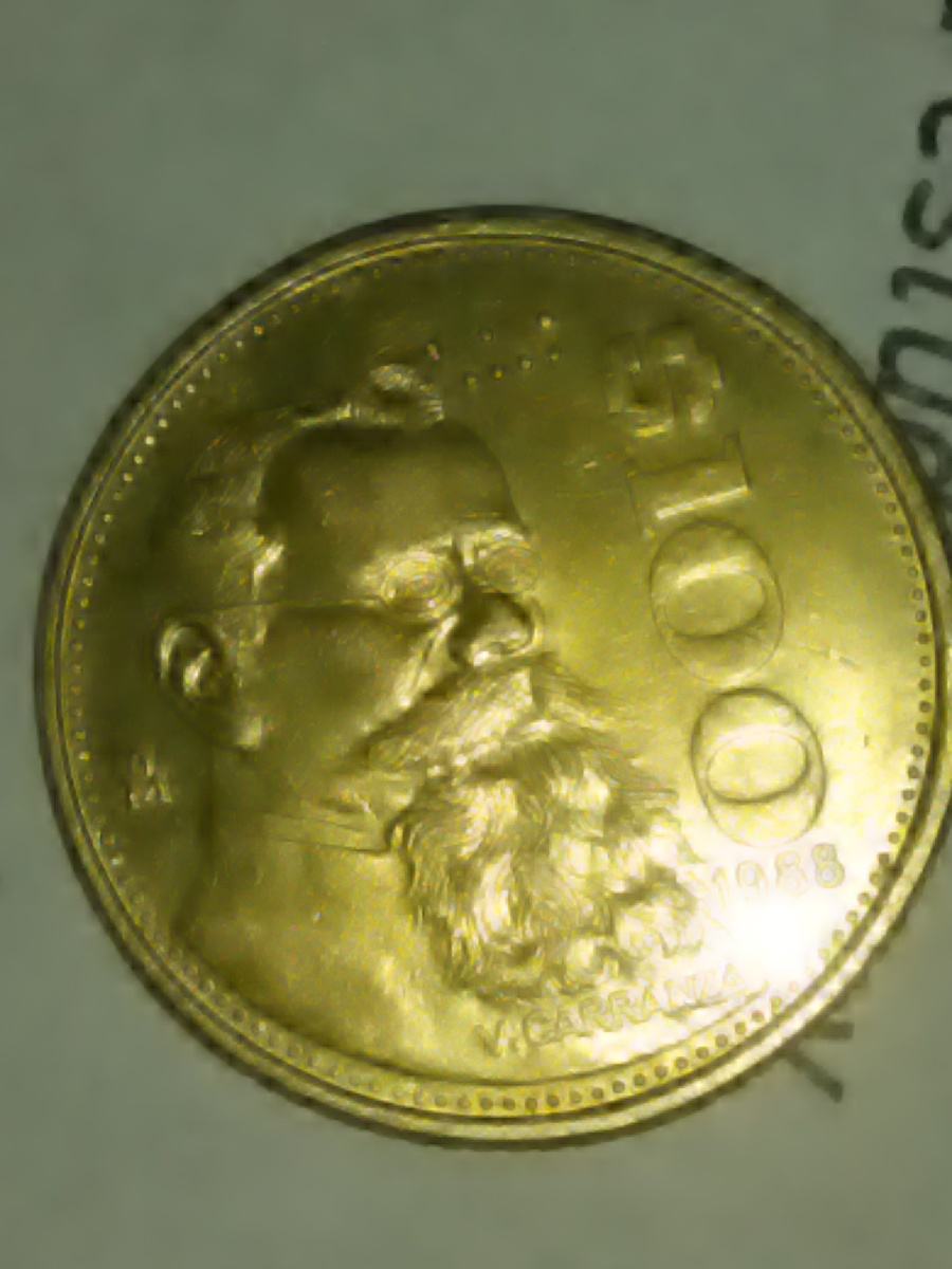 Gold Coin Mexican I Think Artifact Collectors