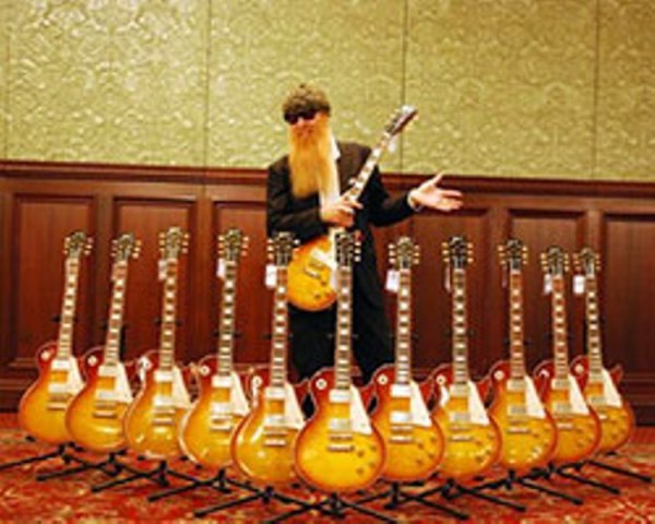 Billy Gibbons Pearly Gates 2 seymour duncan \