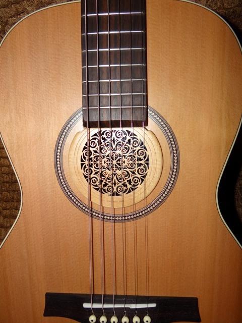 acoustic guitar soundhole covers axe central. Black Bedroom Furniture Sets. Home Design Ideas