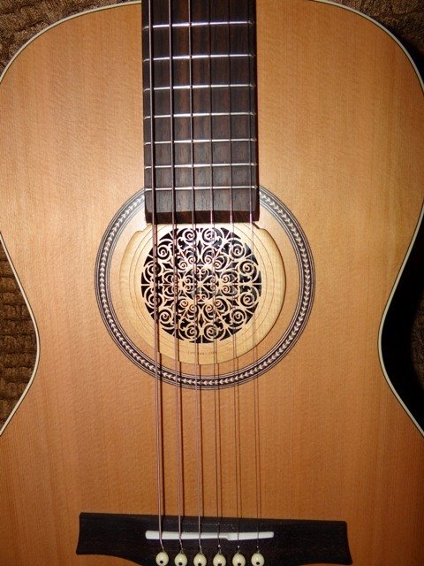 acoustic guitar soundhole covers axe central. Black Bedroom Furniture Sets. Home Design Ideas