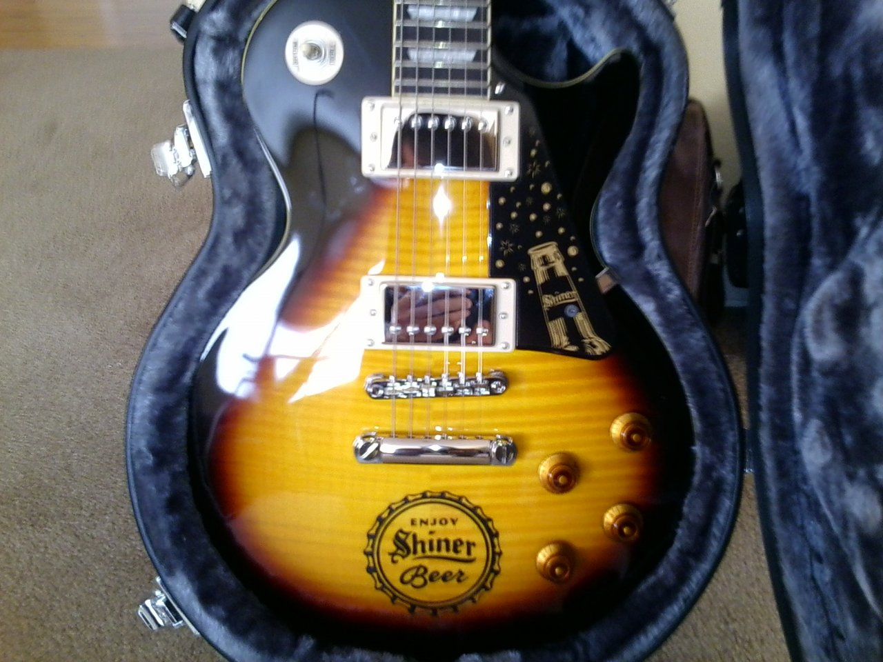 Epiphone Shiner Bock Body