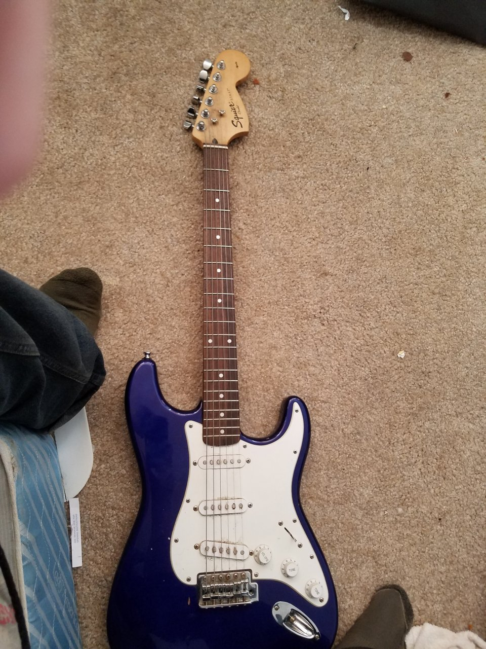 I Have A Squier Stratocastor Fender  It Has An S/n Ic 031225