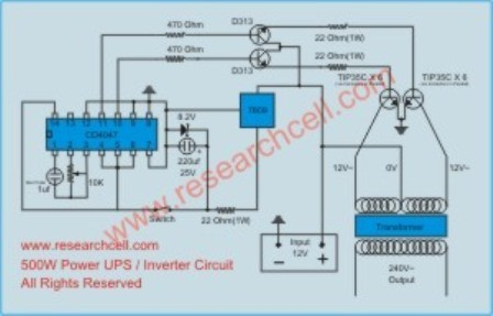 I Need 1000w Inverter Circuit Diagram With Automatic Change