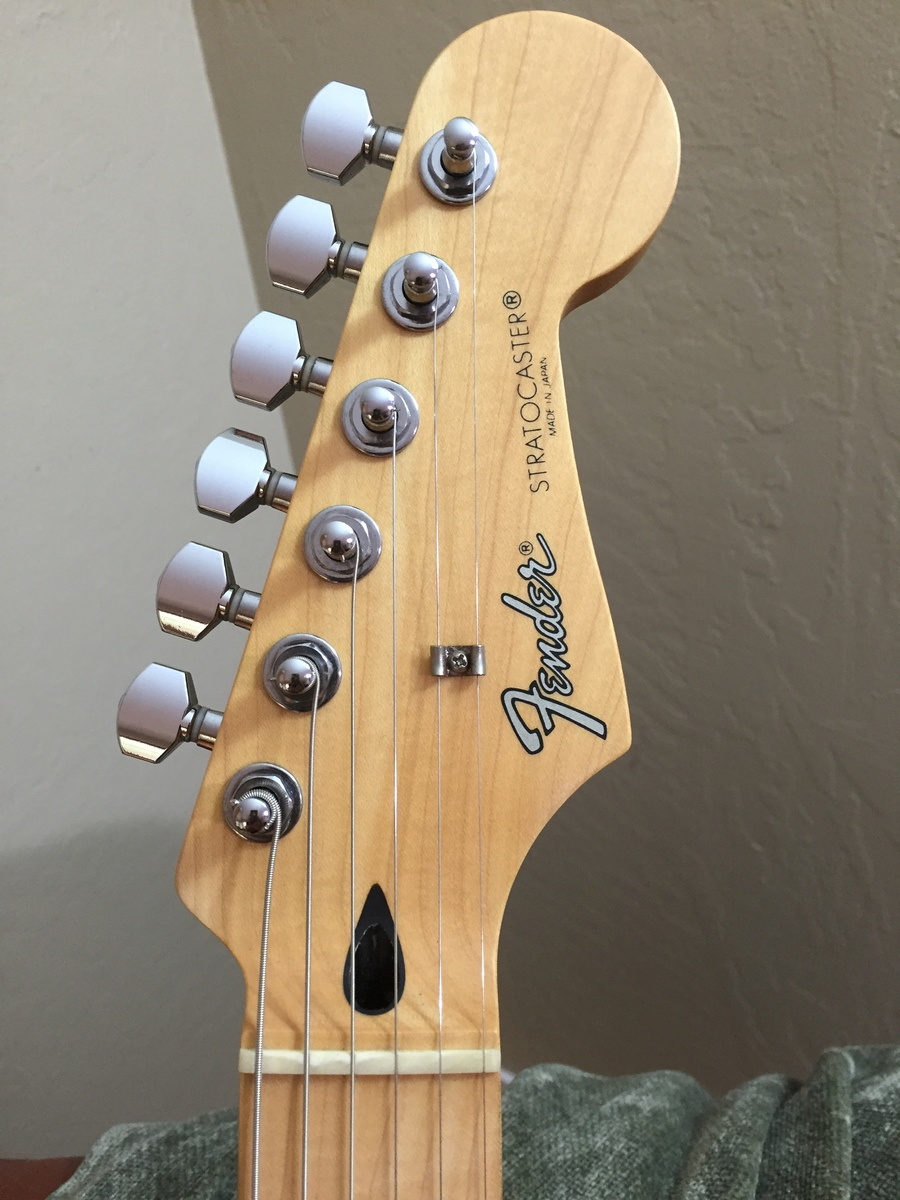 I Just Obtained A Fender MIJ Stratocaster With A Serial