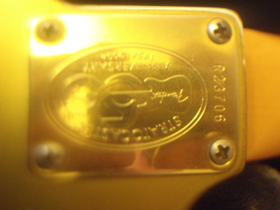 fender stratocaster 50th anniversary mexico