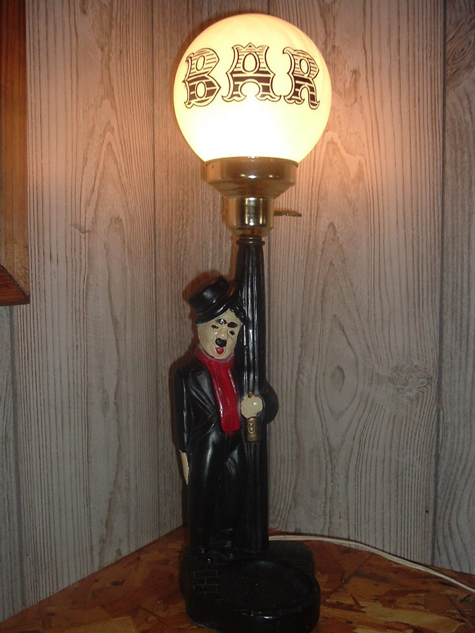I just purchased a charlie chaplin bar light it is in excel thanks for the fast response i bought this at a garage sale for 4 because my husband saw it and really liked it i have no other information about it aloadofball Image collections