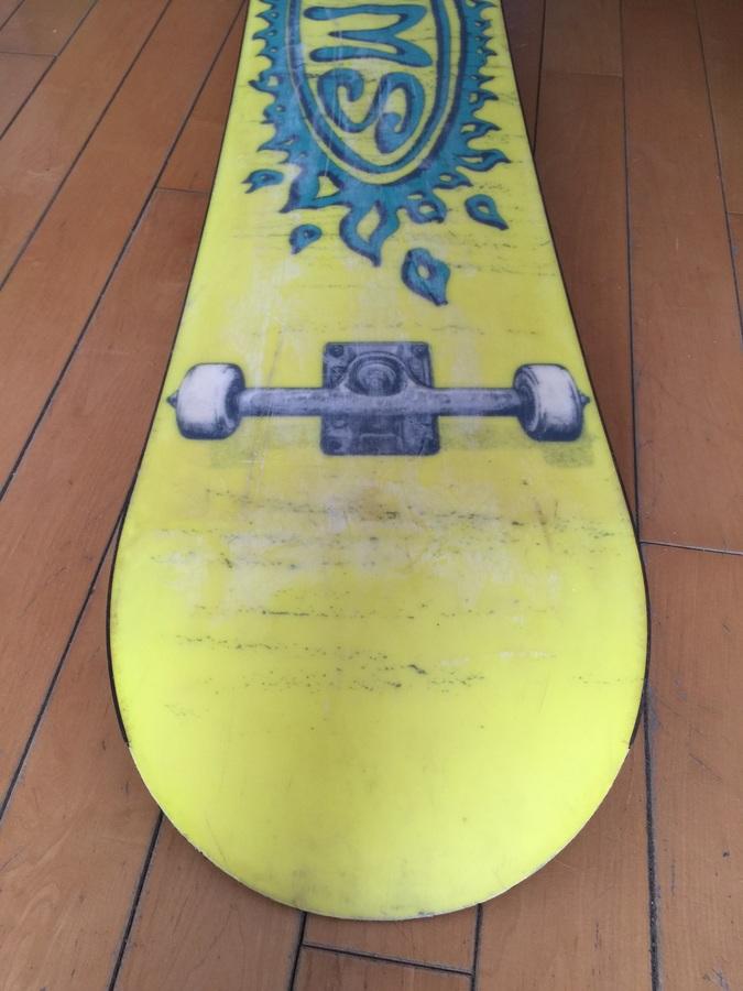 Vintage Sims Snowboard Noah Salasnek Skate FOR SALE