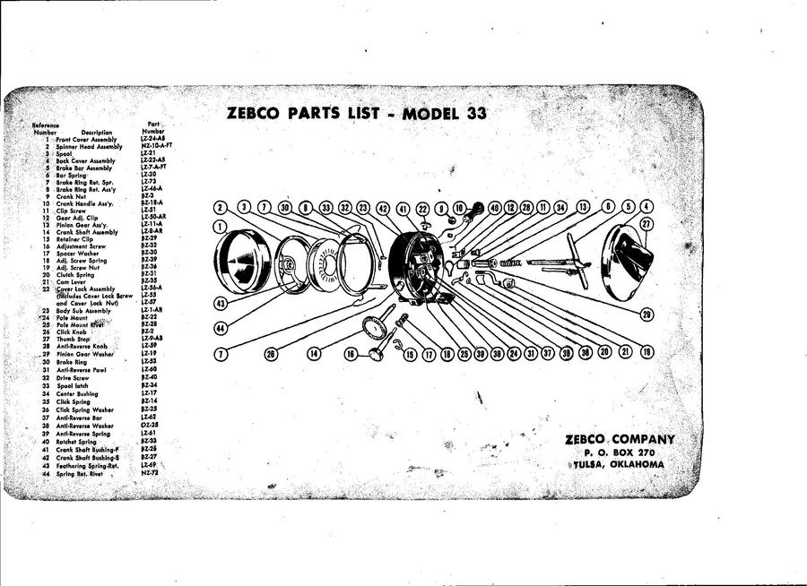 additionally I in addition Zebco Parts Manual X furthermore Rsc B Rsc B Exp A Ed in addition Zebco Parts Manual X. on zebco 33 reel parts