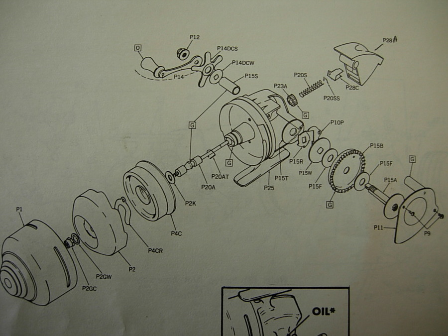 I Need A Parts Diagram For A Shakespeare 7500, Please  I
