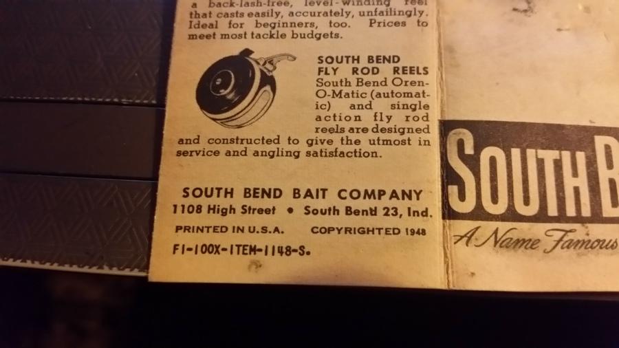 South Bend Model 20 | Fishing Talks