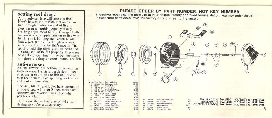 Zebco Omega 154 Reel Parts Diagram Explore Schematic Wiring Diagram