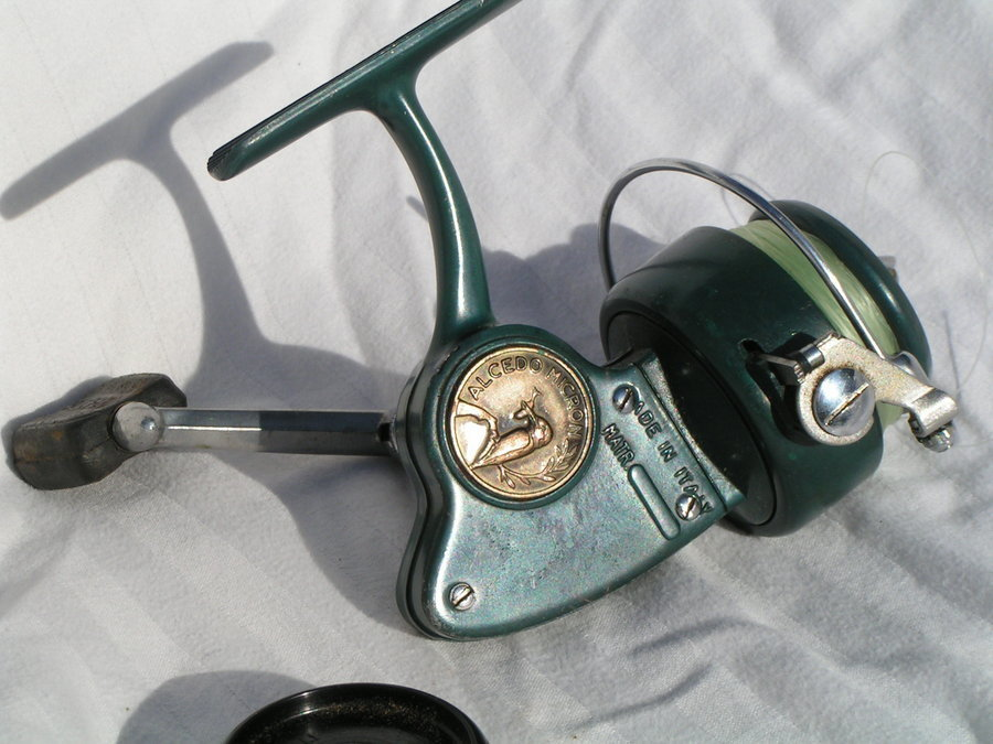 Garcia Mitchell 400 High Speed Reel Made In France