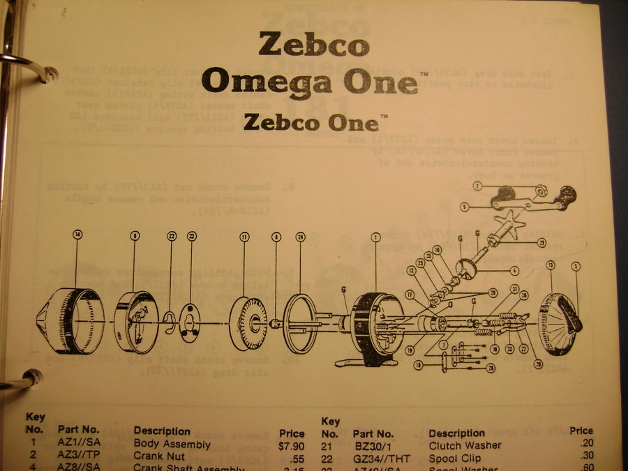 Have A Zebco Omega One In Need Of A Spinner Head  I Cannot