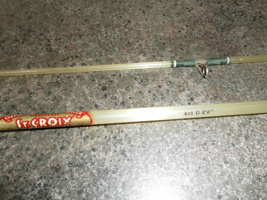I Have An Old Fiberglass St. Croix Rod. Only Stamp Is 401 G ...