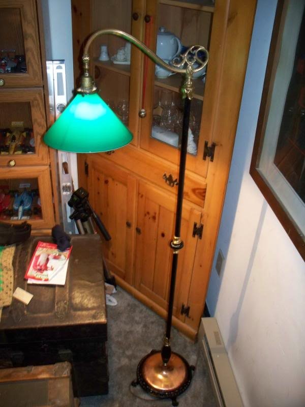 Steps On How To Restore An Old Bridge Floor Lamp My Antique Furniture Collection