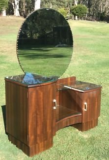 Art Deco Dressing Table My Antique Furniture Collection