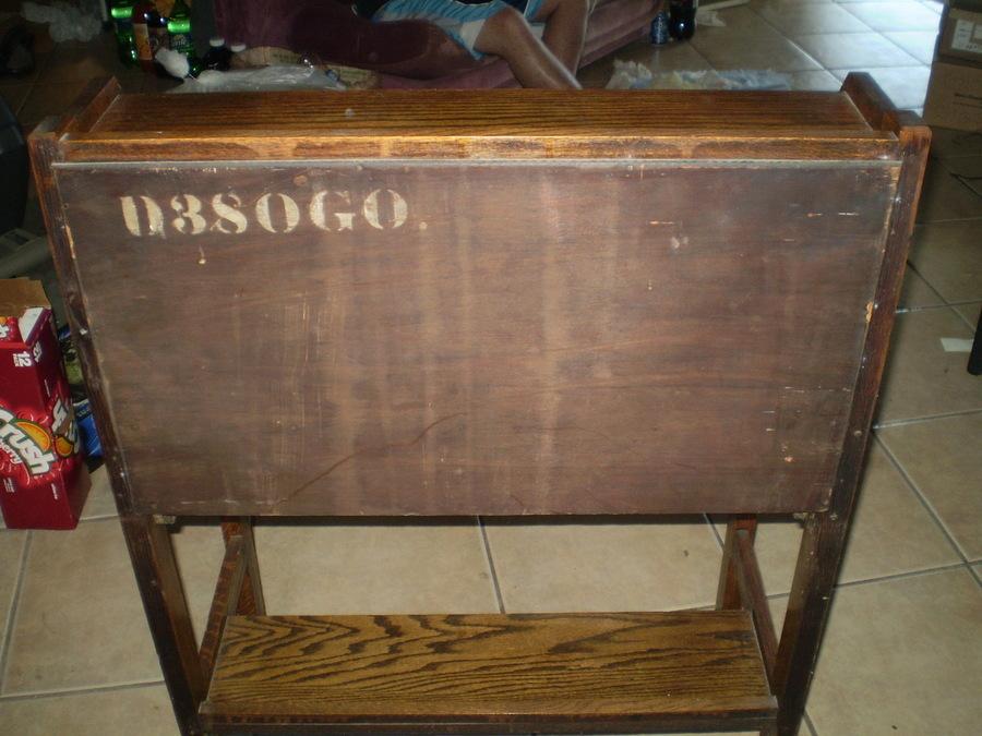 Antique Tiger Oak Writing Desk My Antique Furniture Collection