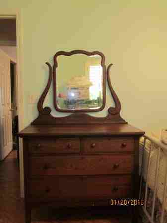 Knapp Joint Old Dresser Amp Mirror My Antique Furniture