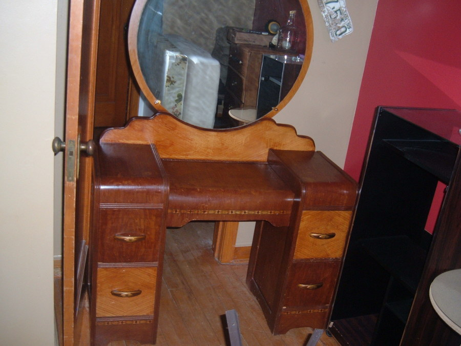 Vanity With Mirror My Antique Furniture Collection