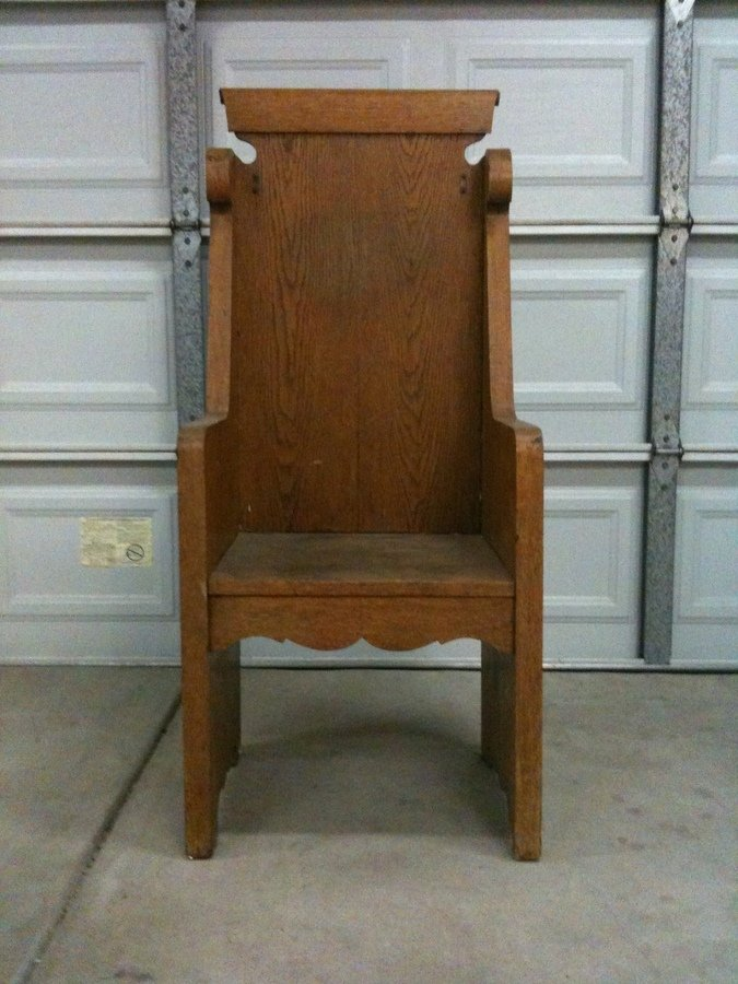 Deacon S Chair Or Bench My Antique Furniture Collection